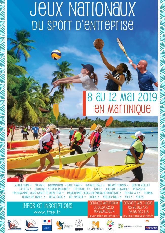 Jeux Nationaux du Sport d'Entreprise 2019