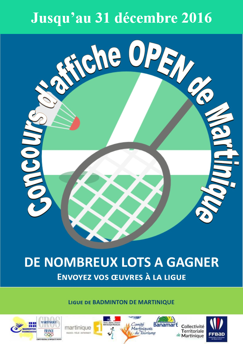 Concours affiche open 2017